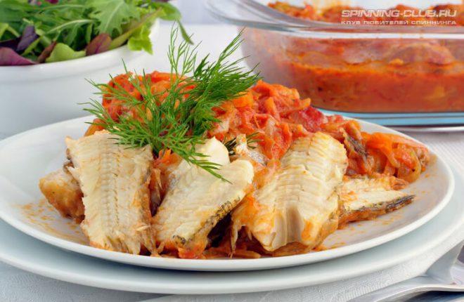 Рецепт филе судака под маринадным соусом