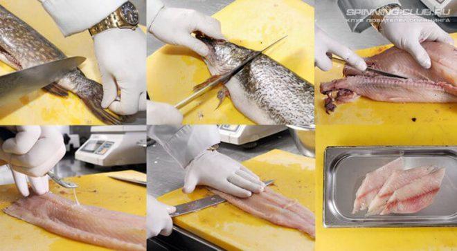 Как быстро и правильно разделать щуку на филе