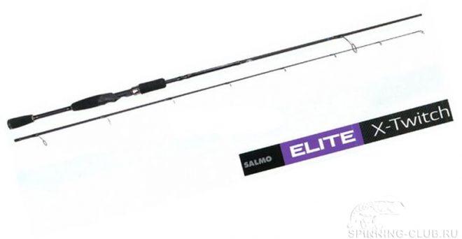 Спиннинг Salmo Elite X-Twitch — модель для освоения твичинга