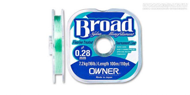 Леска Owner Broad – стоит ли переплачивать за бренд?