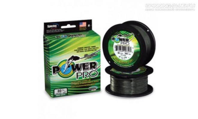 Power Pro Moss Green – плетеный шнур для спиннинга и фидера