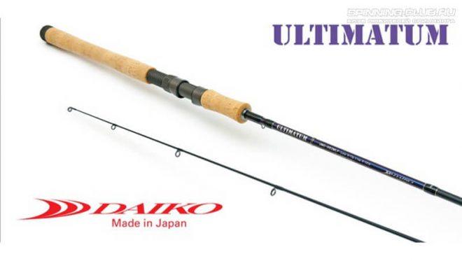 Daiko Ultimatum – длинные спиннинги быстрого строя