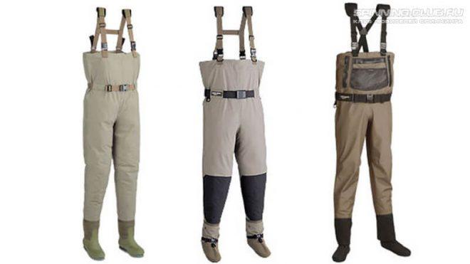 Как выбрать резиновые штаны для рыбалки? Советы по вейдерсам