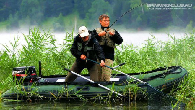 Ловля на спиннинг с лодки или что нас ждёт на воде